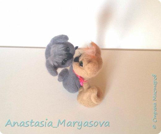 Яркое пятно среди моих тепленьких сереньких игрушек фото 2