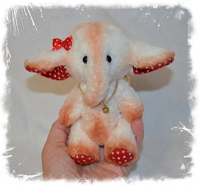 Всем Привет!!! Встречайте Новых Плюшек))) Слоняшка-Сиренька))) Рост 22 см. фото 7
