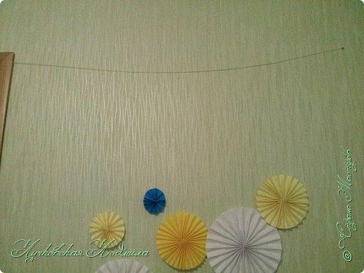 Вот нашей доченьки и годик!!! Сделала несложный декор для украшения комнаты и наряд. фото 9