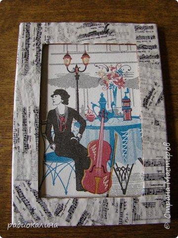 Так случилось, что мне подарили для творчества рамки картонные , хотелось в работе показать как по-разному можно декорировать их в зависимости от сюжета и изображения на фото или картине. Надеюсь, что мне удалось декорировать их неожиданно и оригинально и кому-то мои работы пригодятся в дальнейшем. Фотографий много - запаситесь терпением. Спасибо за внимание! фото 7