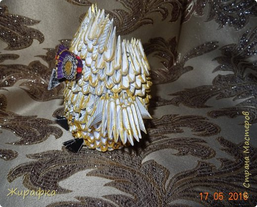 Сова- золотая голова. фото 2