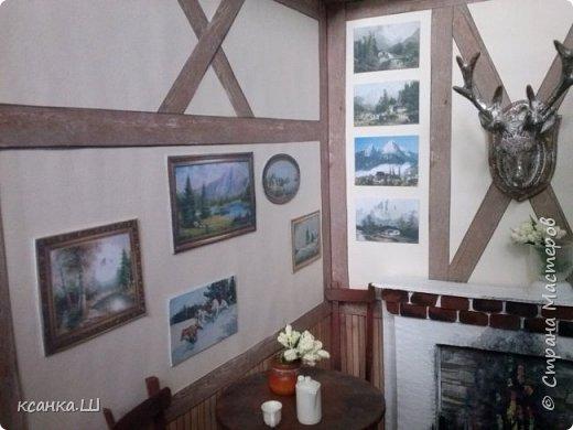 Доброго времени суток, жители Страны Мастеров! Покажу фото моего кафе. Внимание6 много ТЕХНИЧЕСКИХ фото!!! Так выглядели стены пока на них не висели картины. фото 3