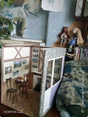 Доброго времени суток, жители Страны Мастеров! Покажу фото моего кафе. Внимание6 много ТЕХНИЧЕСКИХ фото!!! Так выглядели стены пока на них не висели картины. фото 15