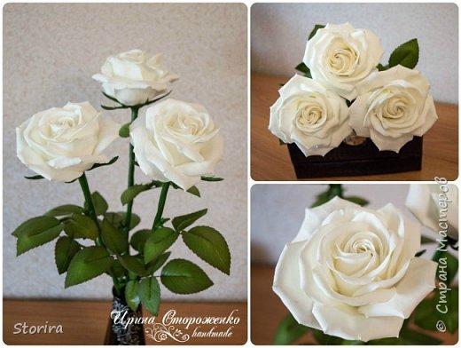 Цветы из фоамирана (мой полугодовой опыт цветоделия) фото 5