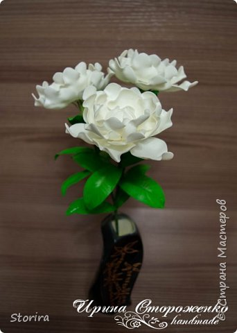Цветы из фоамирана (мой полугодовой опыт цветоделия) фото 10