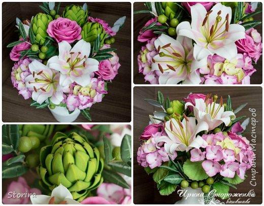 Цветы из фоамирана (мой полугодовой опыт цветоделия) фото 14