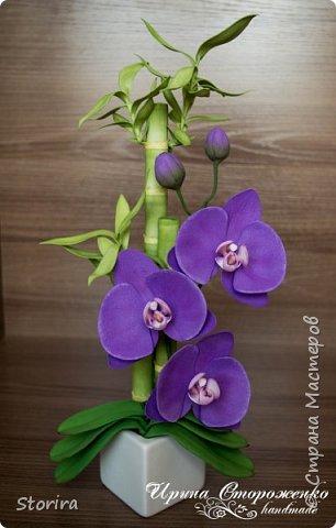 Цветы из фоамирана (мой полугодовой опыт цветоделия) фото 4