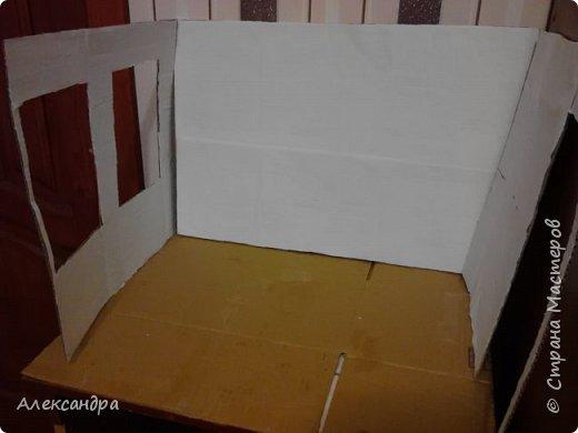 Добрый день всем)) Сегодня я хочу показать Вам процесс создания своего первого румбокса))) Девочки уже готовы переехать в свою комнату, но её ещё нет =O фото 5