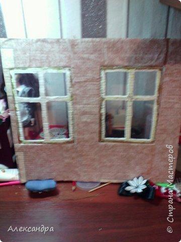 Добрый день всем)) Сегодня я хочу показать Вам процесс создания своего первого румбокса))) Девочки уже готовы переехать в свою комнату, но её ещё нет =O фото 6