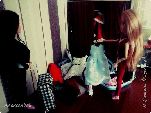 Добрый день всем)) Сегодня я хочу показать Вам процесс создания своего первого румбокса))) Девочки уже готовы переехать в свою комнату, но её ещё нет =O фото 2