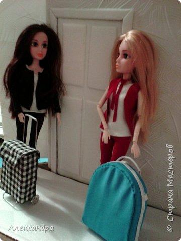 Добрый день всем)) Сегодня я хочу показать Вам процесс создания своего первого румбокса))) Девочки уже готовы переехать в свою комнату, но её ещё нет =O фото 10