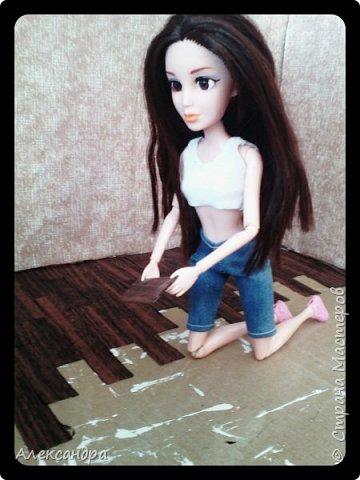 Добрый день всем)) Сегодня я хочу показать Вам процесс создания своего первого румбокса))) Девочки уже готовы переехать в свою комнату, но её ещё нет =O фото 22