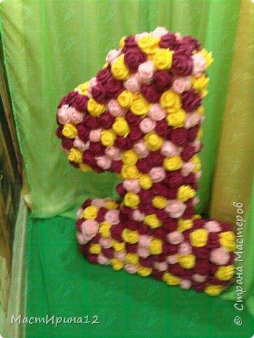 Объемная Единичка в подарок на День Рождение Кариночки фото 2