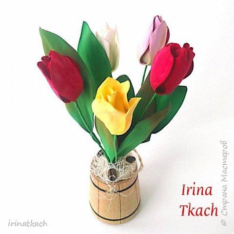 Мои орхидеи из фоамирана фото 1