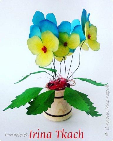 Мои орхидеи из фоамирана фото 5
