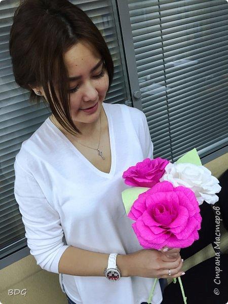 Сделала несколько цветочков для фотосессии фото 5