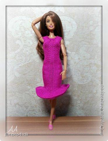Скоро лето и модным девочкам нужны новые, модные наряды. Особенно, таким ярким, как Джой))  Основа платья взята с сайта http://www.kimberly-club.ru/forum/?FID=18&PAGE_NAME=message&TID=6013  Наше новое платье, выполненное спицами и крючком.  фото 3