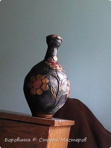 """Всем привет! Девочки , вазы разной формы из стеклянных бутылок """"Быстрее не бывает"""" или как я их делаю. Специально для Валентины Острицовой и Натали ( Рудбекия). фото 16"""