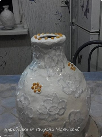 """Всем привет! Девочки , вазы разной формы из стеклянных бутылок """"Быстрее не бывает"""" или как я их делаю. Специально для Валентины Острицовой и Натали ( Рудбекия). фото 14"""