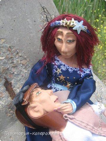 Приветствую вас, жители и гости прекрасной Страны Мастеров!. Представляю вам свежий стишок и новых куклен. Предупреждаю, немножко грустно.   фото 6