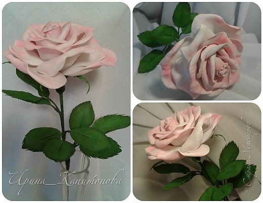 Доброго времени суток всем жителям и гостям Страны Мастеров!!! Решила замахнуться на изготовление интерьерных цветов... тем более подвернулся подходящий случай- день рождения у тётушки:))))) А она обожает розы.... фото 1