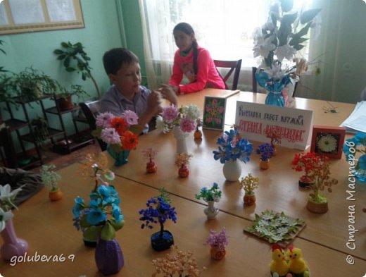 """Мы организовали в школе выставку работ кружка """"Страна Мастерляндия"""" фото 1"""
