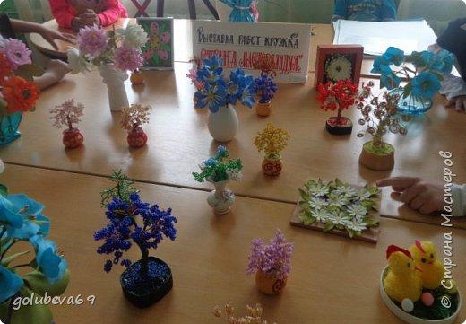 """Мы организовали в школе выставку работ кружка """"Страна Мастерляндия"""" фото 3"""