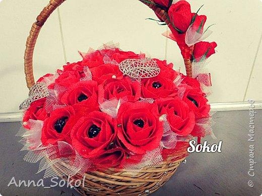 Корзина сладких роз))) фото 12