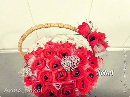 Корзина сладких роз))) фото 11