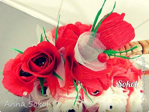 Корзина сладких роз))) фото 8
