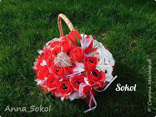 Корзина сладких роз))) фото 3