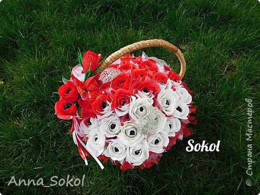 Корзина сладких роз))) фото 2