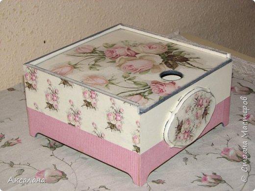 Еще одна коробочка для чайных пакетиков.  фото 1