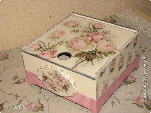 Еще одна коробочка для чайных пакетиков.  фото 2