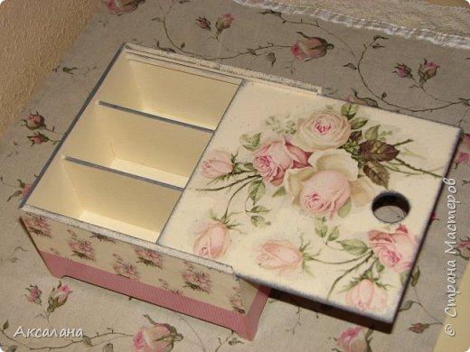 Еще одна коробочка для чайных пакетиков.  фото 3
