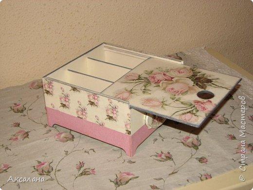 Еще одна коробочка для чайных пакетиков.  фото 4