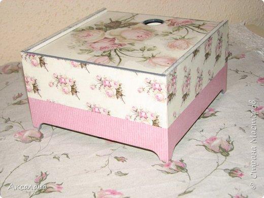 Еще одна коробочка для чайных пакетиков.  фото 5