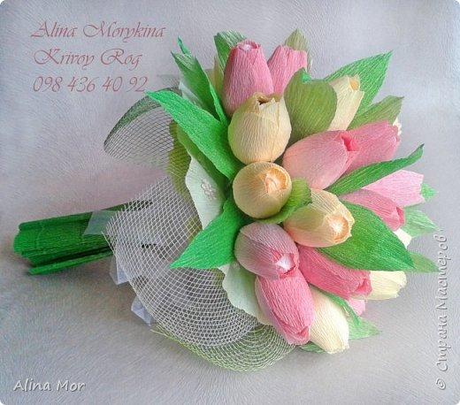 Ручной букет 15 роз фото 11