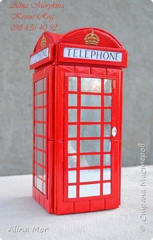 Английская телефонная будка - оформление чая фото 1