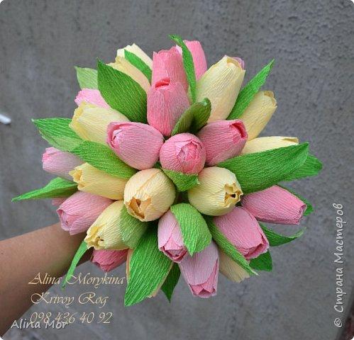 Ручной букет 15 роз фото 12