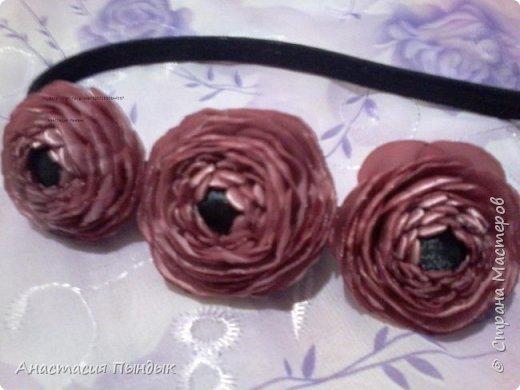 С фиолетовыми розочками фото 7
