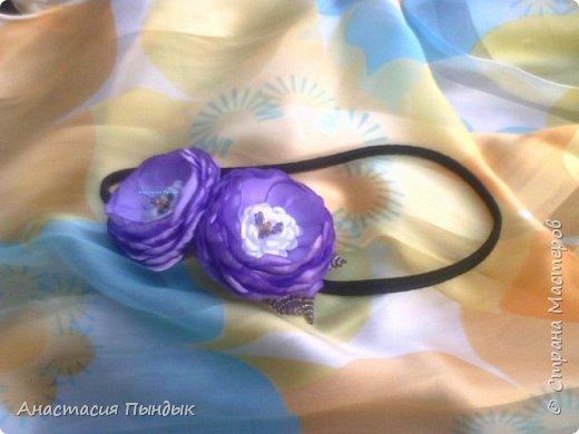 С фиолетовыми розочками фото 8