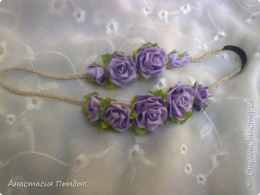 С фиолетовыми розочками фото 1