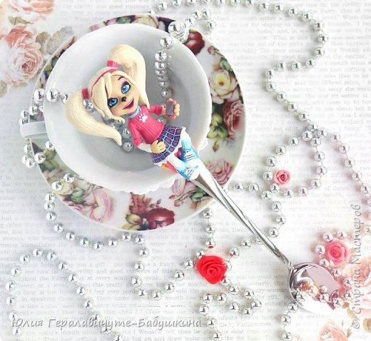 Роза Барбоскина на ложечке фото 2