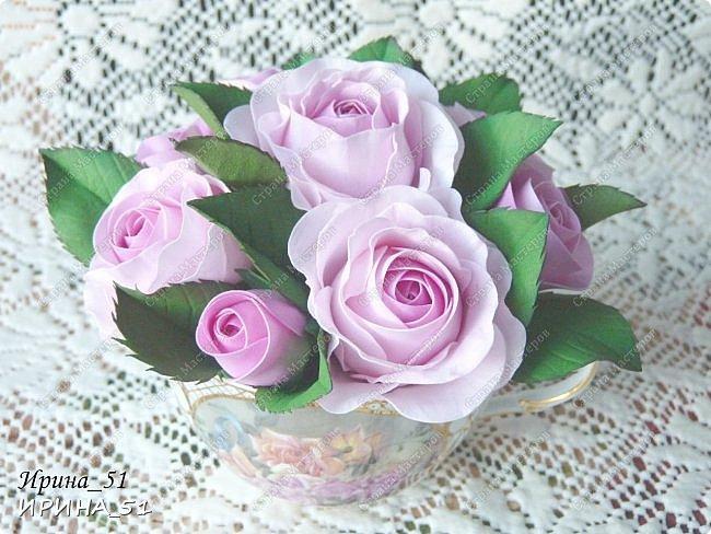 Здравствуйте! Рада всех видеть у себя в гостях. Я сегодня с пиончиком и интерьерной чашечкой с розами.  Приятного просмотра.  фото 15