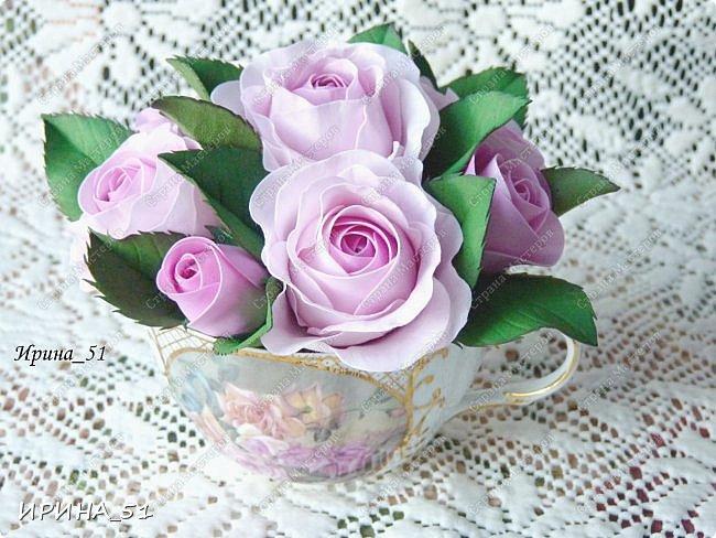 Здравствуйте! Рада всех видеть у себя в гостях. Я сегодня с пиончиком и интерьерной чашечкой с розами.  Приятного просмотра.  фото 13