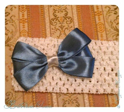 Добрый день, вот такие повязочки я сделала для племяшки. 1-я роза по МК Людмилы, не устаю ее благодарить за этот МК. Людочка, спасибо большое розочки получаются чудесные. http://stranamasterov.ru/node/713487?c=favorite  фото 10