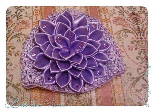 Добрый день, вот такие повязочки я сделала для племяшки. 1-я роза по МК Людмилы, не устаю ее благодарить за этот МК. Людочка, спасибо большое розочки получаются чудесные. http://stranamasterov.ru/node/713487?c=favorite  фото 8