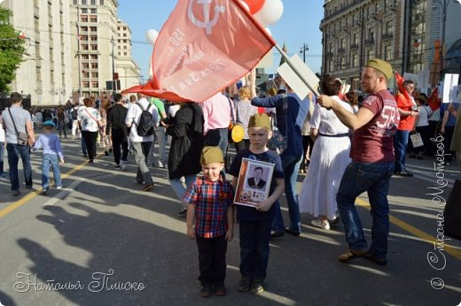 Ещё раз здравствуйте, дорогие друзья!!! В продолжение предыдущего репортажа (https://stranamasterov.ru/node/1028276) хочу рассказать вам, как мы провели День Победы в Москве. Масштабные мероприятия в этот день проходили, конечно же, по всему городу, но так как мы жили в районе ВДНХ, туда и отправились с самого утра. P.S. Картинка с сайта w-dog.ru (https://w-dog.ru/wallpaper/wot-world-of-tanks-mir-tankov-wargamingnet-bigworld-tanki-tank-tanks-tank-9-maya-den-pobedy-prazdnik-t-34-85/id/284415/). фото 24