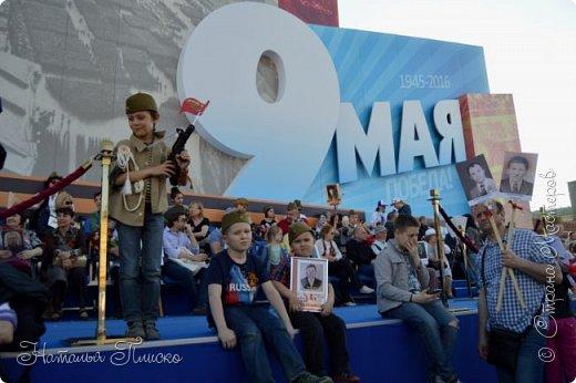 Ещё раз здравствуйте, дорогие друзья!!! В продолжение предыдущего репортажа (http://stranamasterov.ru/node/1028276) хочу рассказать вам, как мы провели День Победы в Москве. Масштабные мероприятия в этот день проходили, конечно же, по всему городу, но так как мы жили в районе ВДНХ, туда и отправились с самого утра. P.S. Картинка с сайта w-dog.ru (https://w-dog.ru/wallpaper/wot-world-of-tanks-mir-tankov-wargamingnet-bigworld-tanki-tank-tanks-tank-9-maya-den-pobedy-prazdnik-t-34-85/id/284415/). фото 29